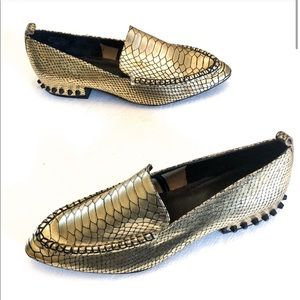 Jeffrey Campbell Barnett Studded Loafer